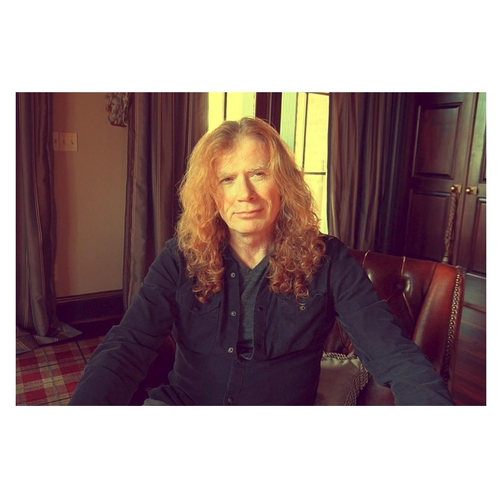 Dave Mustaine dei Megadeth ha un tumore alla gola foto