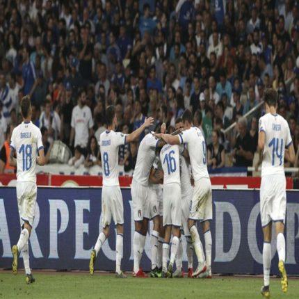 Qualificazioni per europei 2020: Grecia-Italia 0-3