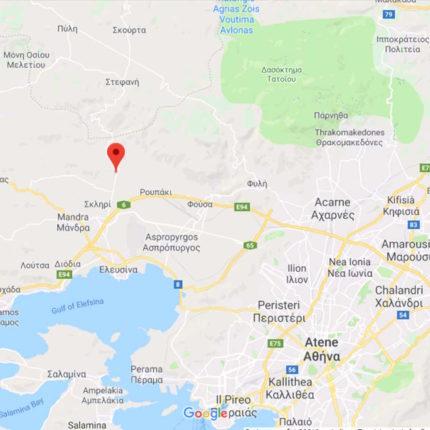 Terremoto in Grecia oggi 19 Luglio 2019